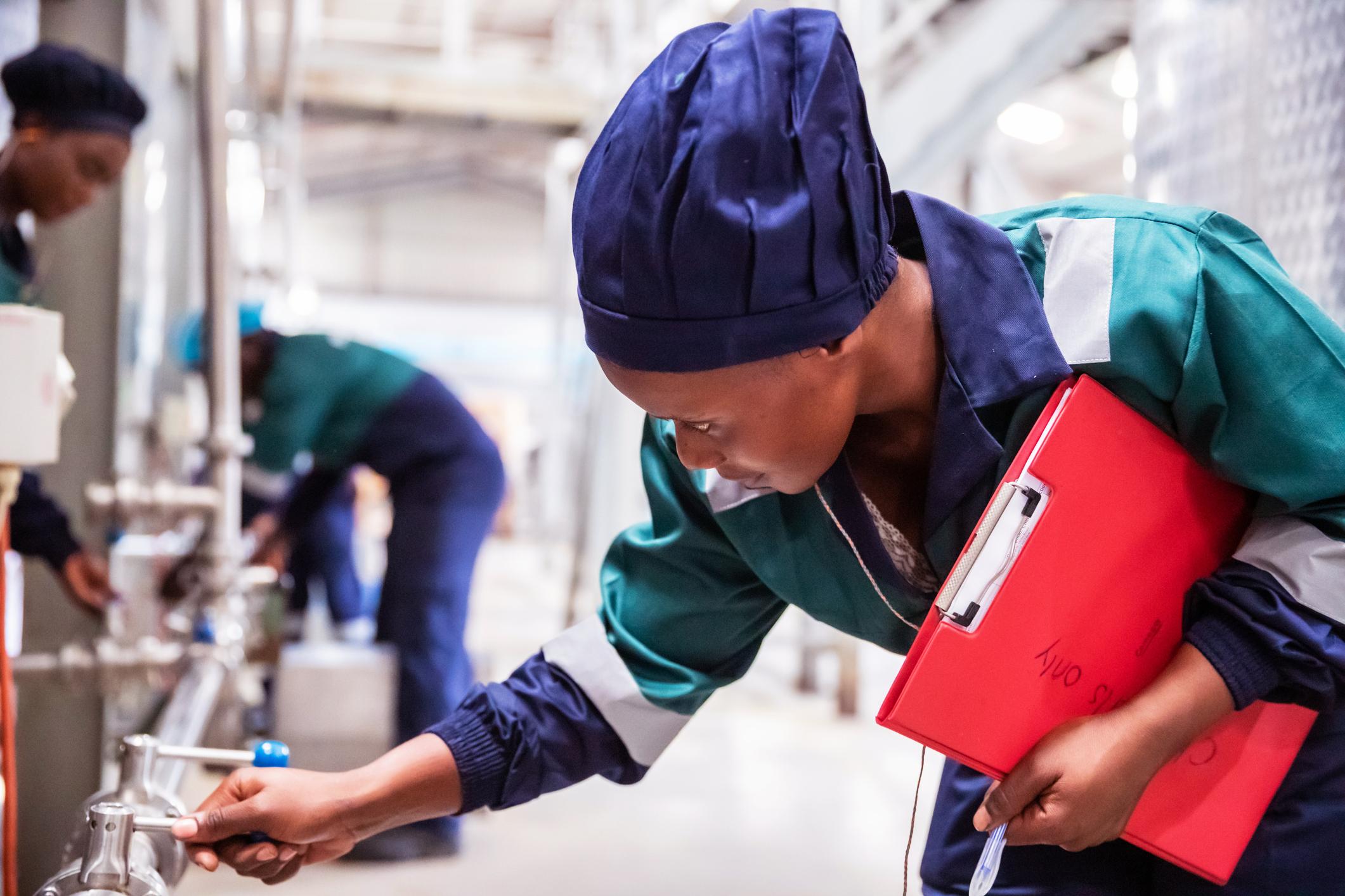 Female Safety Engineer