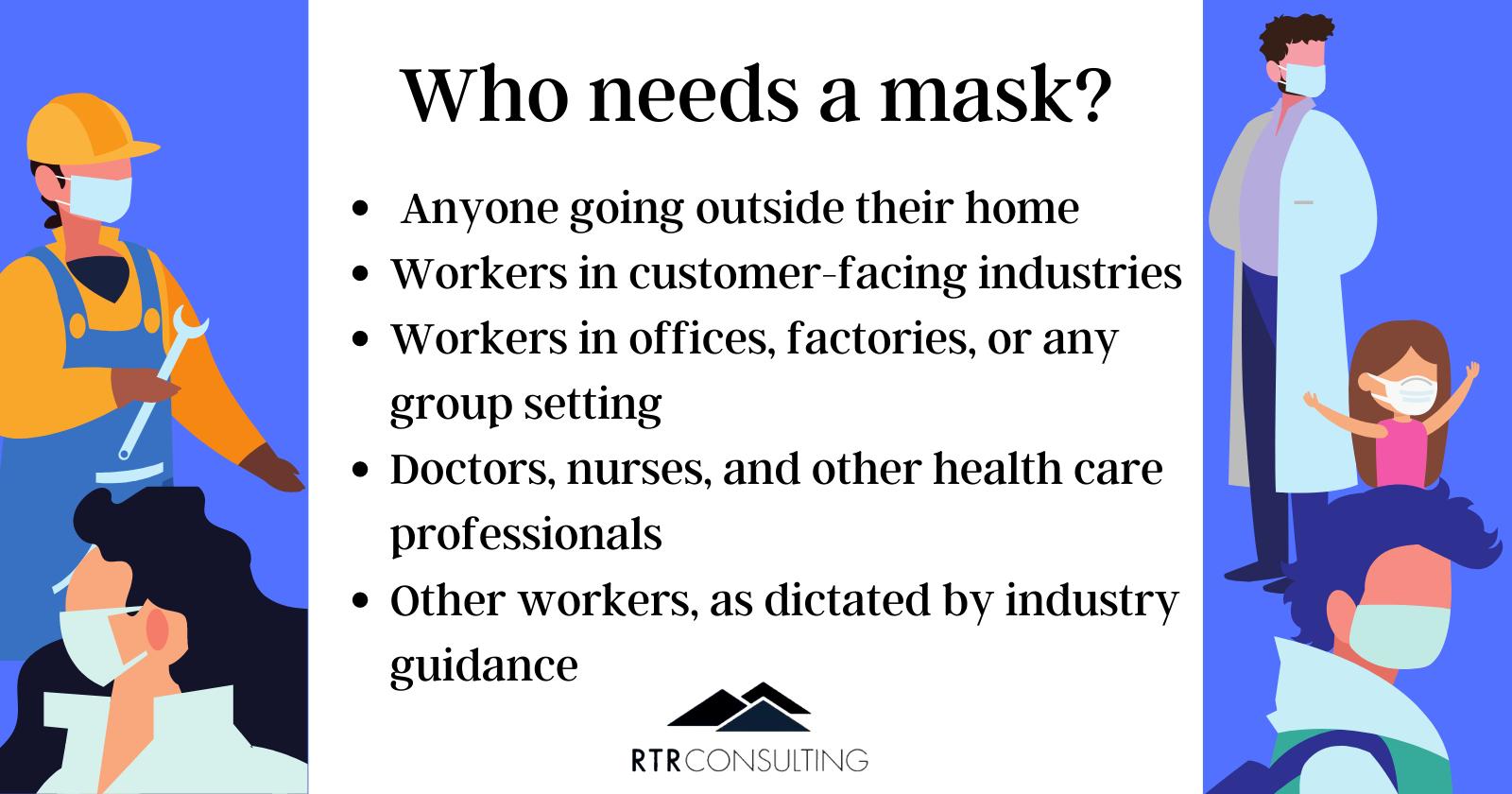 who needs a mask